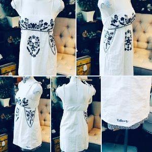 Billabong Dress Sz Sm 100% Cotton Fully Lined